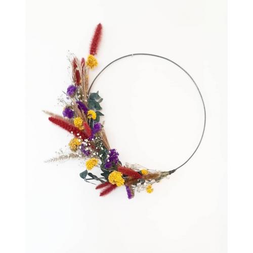 DIY-pakket bloemenkrans - LARGE